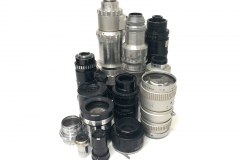 Bolex lense collection